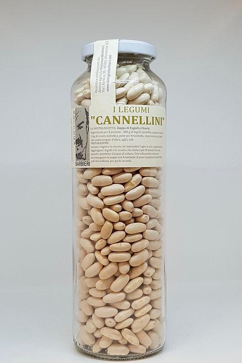 Cannellini bonen, biologische bonen in pot