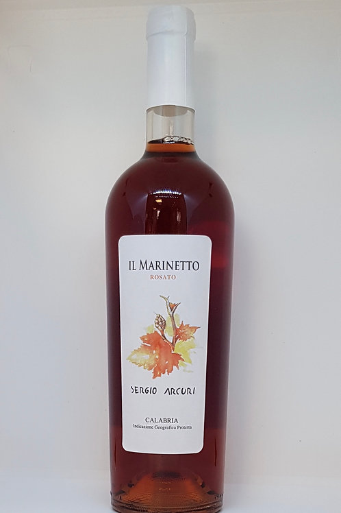 Marinetto, rosé wijn fles