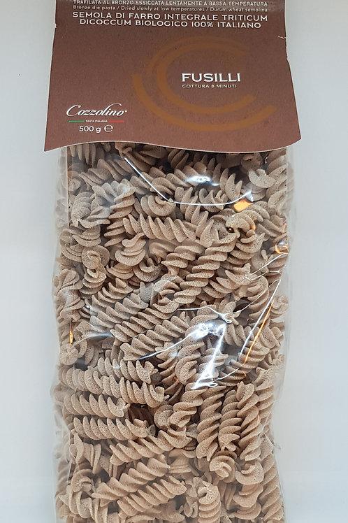 Fusilli, spelt, Cozzolino, ambachtelijke Italiaanse pasta