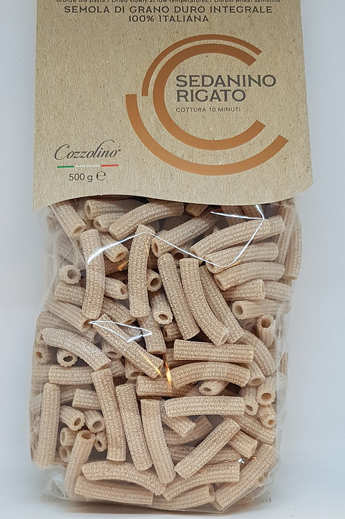 Rigato, volkoren, Cozzolino, ambachtelijke Italiaanse pasta