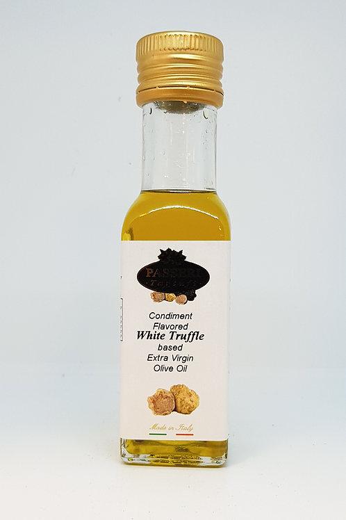 Flesje olijfolie met witte truffel