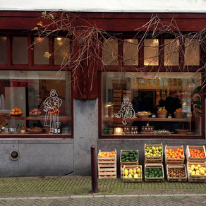 Kerstgroet in de Lindenstraat 48