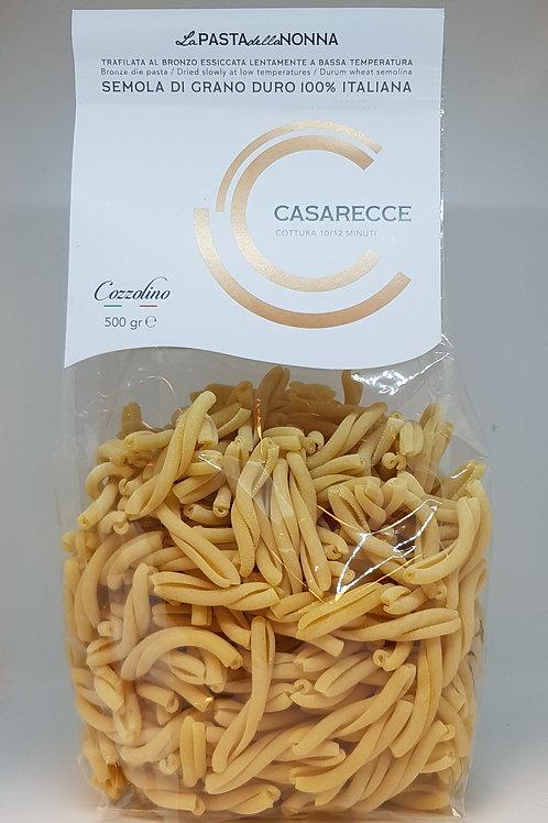 Casarecce Italiaanse pasta