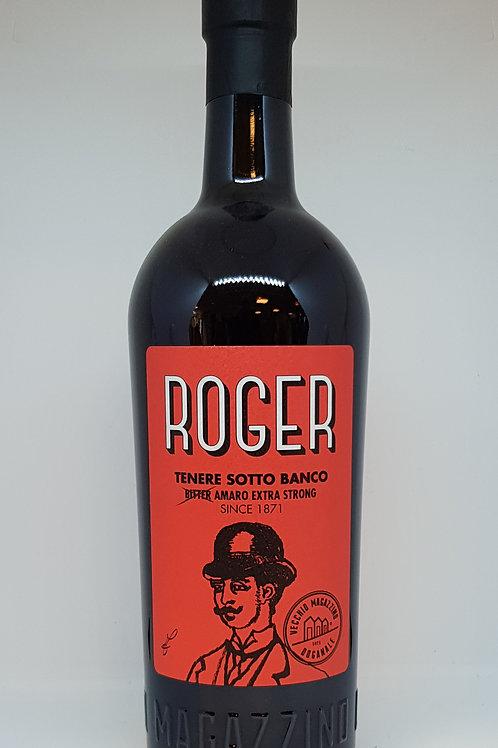 Amaro Roger Tenere Sotto Banco, Vecchio Magazzino Doganale, bitter