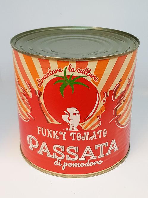 Funky Tomato passata di pomodoro, gezeefde tomaten