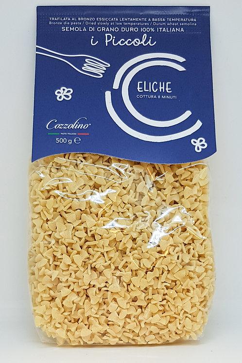 Eliche, durum tarwe, Cozzolino, ambachtelijke Italiaanse pasta