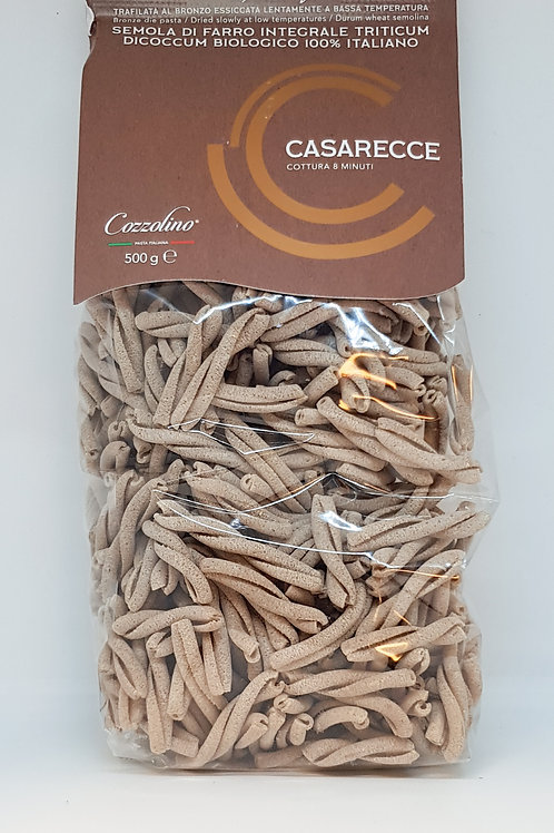 Casarecce, spelt, Cozzolino, ambachtelijke Italiaanse pasta
