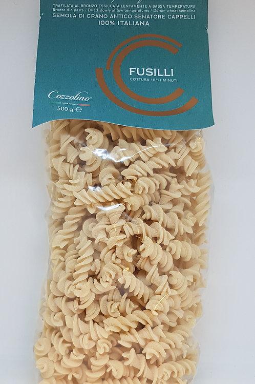 Fusilli, senatore cappelli, Cozzolino, ambachtelijke Italiaanse pasta