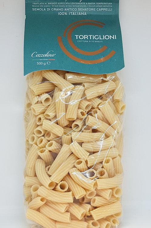 Tortiglioni, senatore cappelli, Cozzolino, ambachtelijke Italiaanse pasta