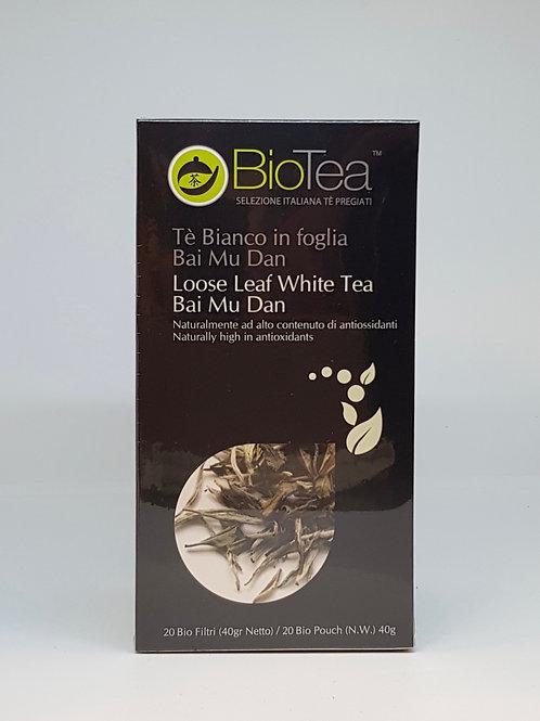 Witte thee van BioTea verpakking