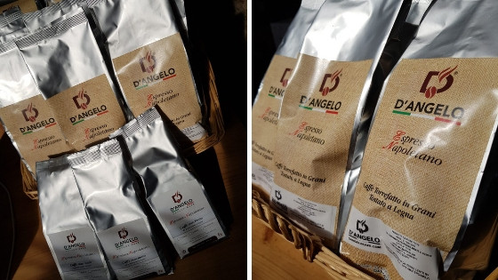 italiaanse koffie D'angelo espresso napoletano