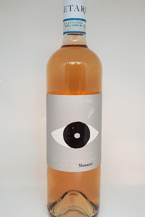 Fles rosé, Munazei Lacryma Christi del Vesuvio Doc