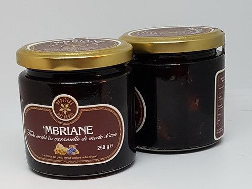 Mbriane, Gedroogde vijgen in gekarameliseerde wijnmost