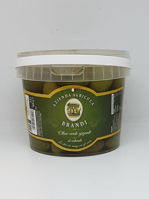 Groene olijven