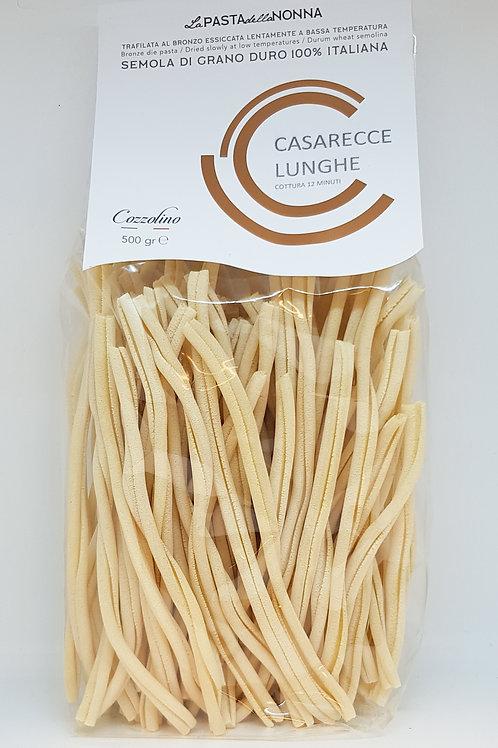 Casarecce Lunghe, durum tarwe, Cozzolino, ambachtelijke Italiaanse pasta