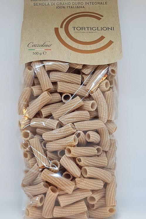 Tortiglioni, volkoren, Cozzolino, ambachtelijke Italiaanse pasta