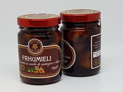 Frhumieli, Gedroogde vijgen in rum en geurige kastanjehoning