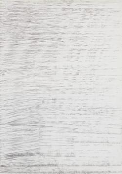 Um excerto #1, Grafite sobre papel, 42x2