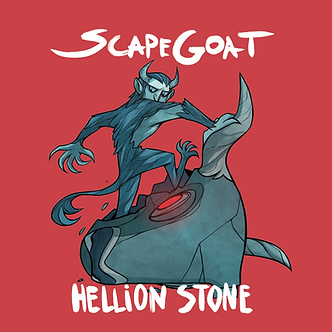 Scapegoat album cover by Hellion Stone.p