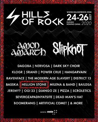 We're running to the Hills with Slipknot and Amon Amarth