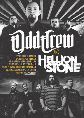 Upcoming tour with the mighty Odd Crew