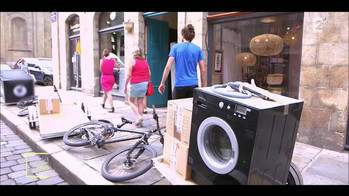 Déménagement à vélo - Par France 2