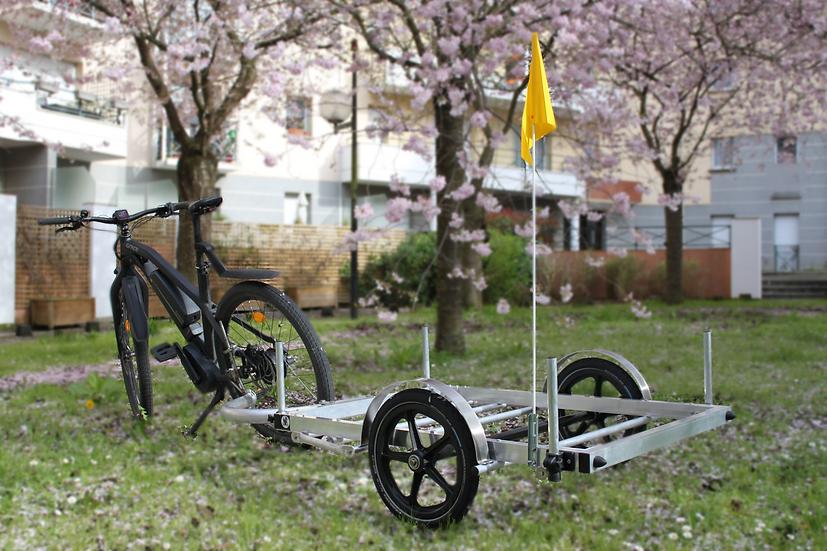 Plateau de transport à vélo - de 150 à 300kg de charge utile