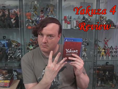 Kaiju no Kami Reviews - Yakuza 4 (2010)