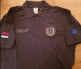 Polo-shirt, dunkelgrau