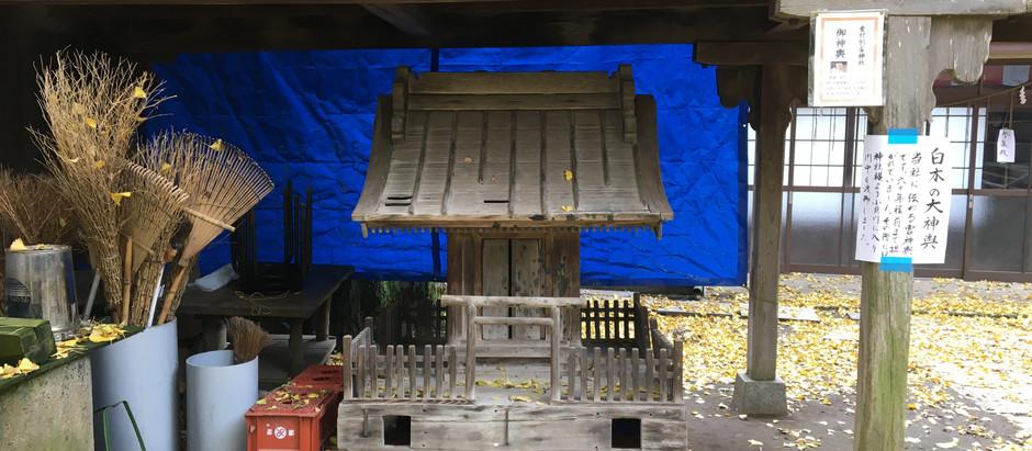 金村別雷神社の幻のお神輿