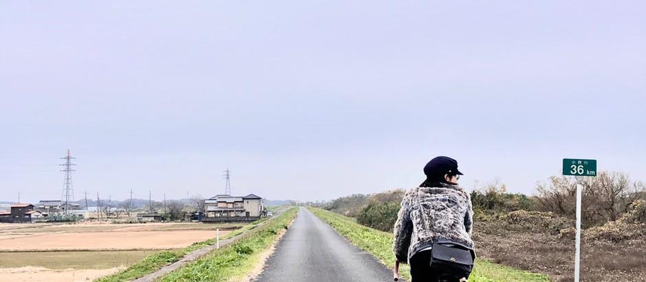 小貝川と上郷ーサイクリングしてみたー