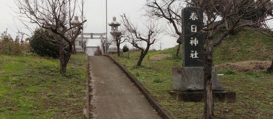 小貝川と祈りー春日神社ー