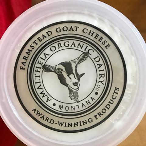Amaltheia organic goat cheese