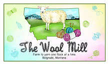 The Wool Mill - business card - front.jp
