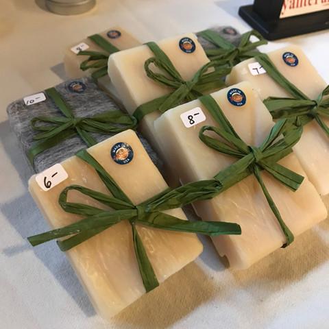goat's milk soap from Hyalite Farm