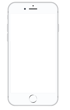 iphone 8 vector - round up and donate spare change