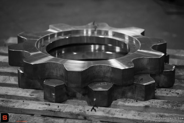 Flanged Sprocket in Production