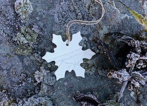 Liten snøkrystall 6 cm