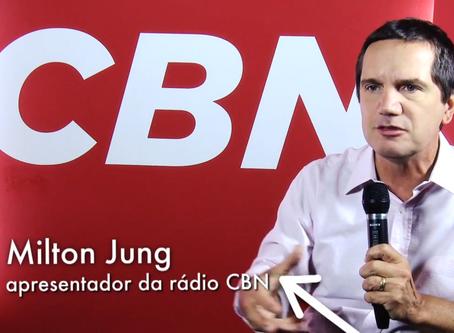 AFAGO SP com Milton Jung na Rádio CBN