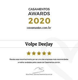 Volpe DeeJay DJ Prêmio Casamentos 2020 São Paulo.png