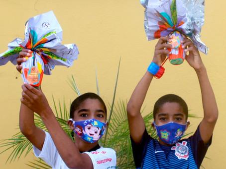 """""""Uma Páscoa diferente"""", dizem as crianças e famílias da AFAGO"""