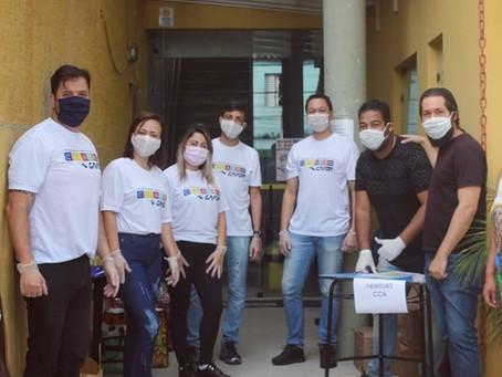 A Gafor doou pessoalmente 5.000 sabonetes para ajudar na prevenção à pandemia
