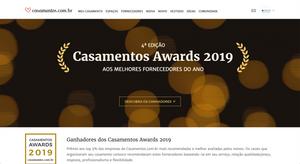 Casamentos Awards 2019 | Fonte: Casamentos.com.br