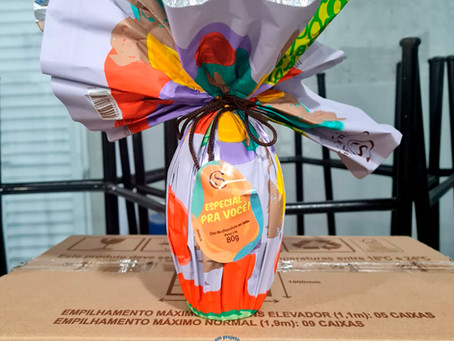 Páscoa do Bem: Cacau Show doa 275 ovos de chocolate para a ONG AFAGO SP