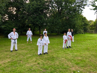 Karate in the Park!