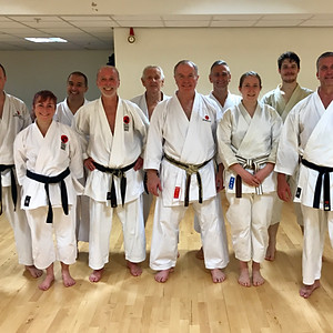 Training with Sensei Brennan
