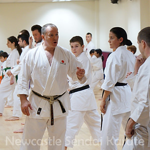 Training & Grading with Sensei Frank Brennan
