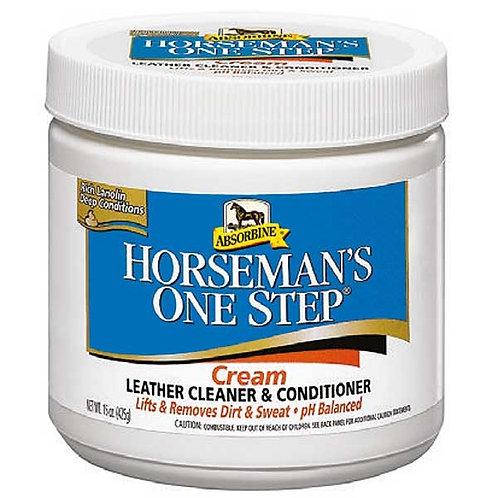 Absorbine, Horsemans One Step, lädertvål & balsam