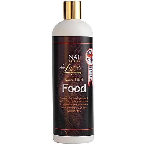 NAF Sheer Luxe, Leather Food, läderrengöring