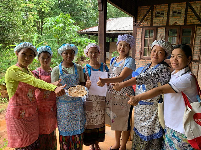 nutrition awarness IDP Camp Kachin Myanmar